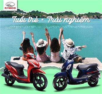 Xe tay ga 50cc giá rẻ dành cho các cô nàng yêu thích sự cá tính