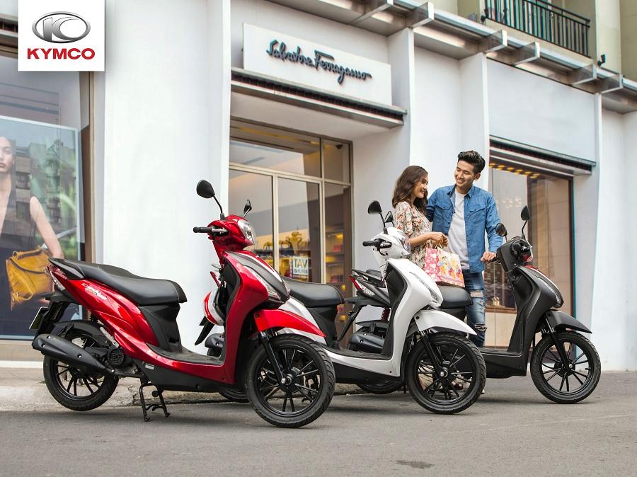 Xe máy Kymco 50cc được người dùng ưu ái lựa chọn