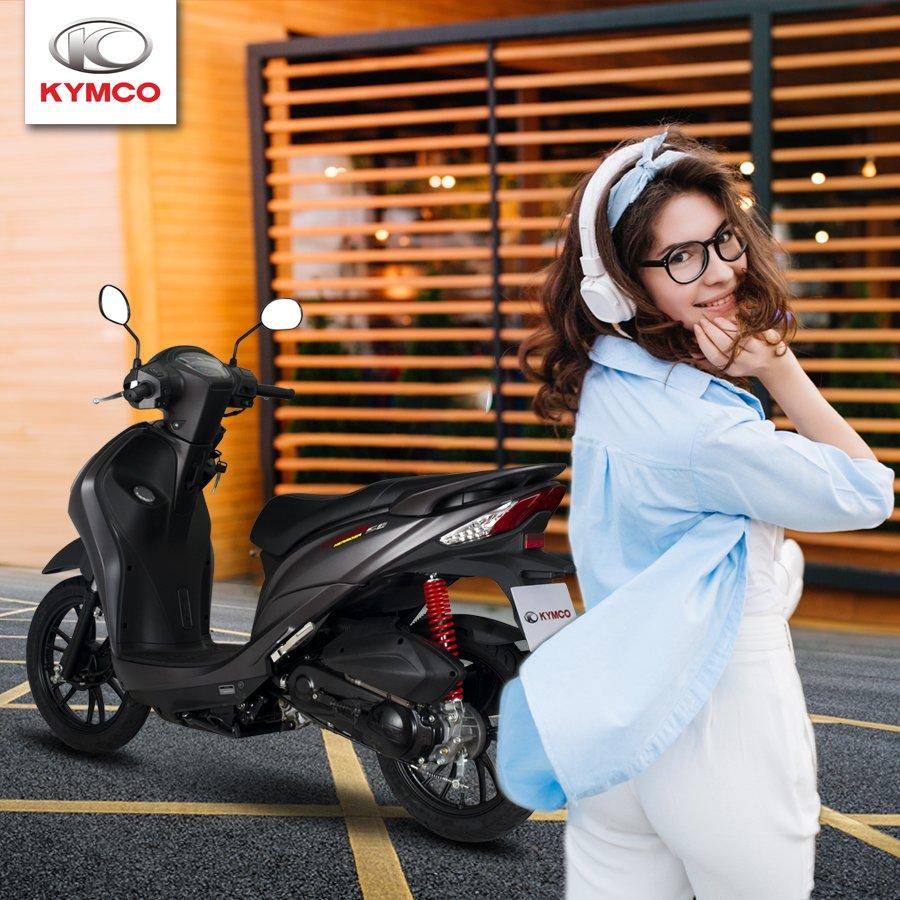 Xe ga Kymco đáp ứng được nhiều tiêu chí từ giá thành đến kiểu dáng đa dạng đẹp mắt
