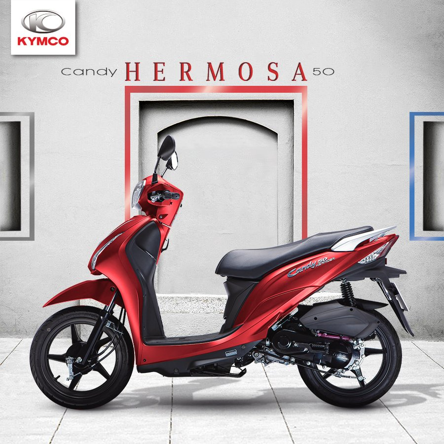 Candy Hermosa xe tay ga 50cc có rất nhiều ưu điểm nổi bật