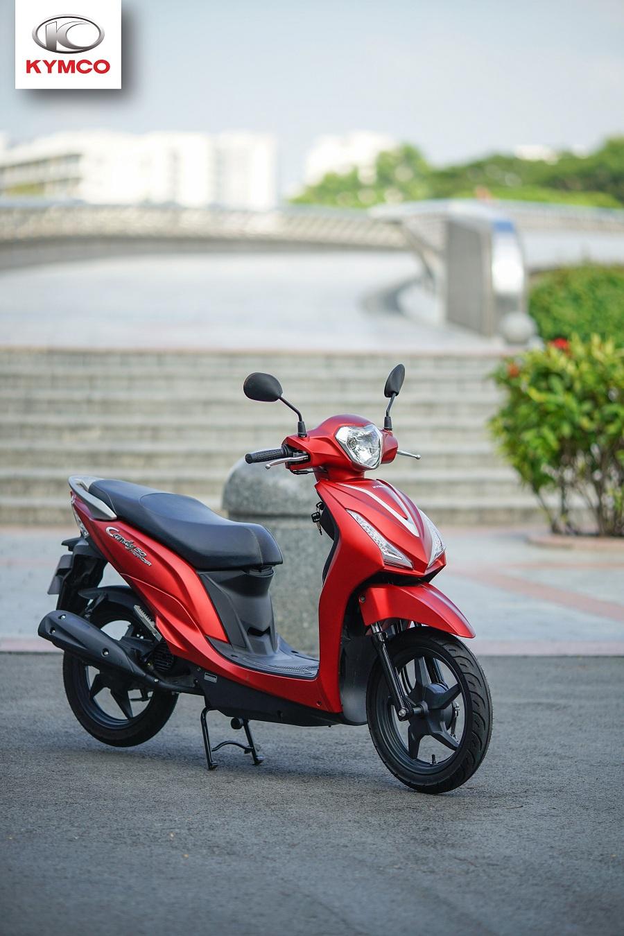 Xe máy Kymco kiểu dáng ấn tượng, màu sắc thời trang