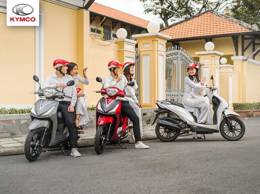 Xe ga cao cấp kymco thích hợp cho các bạn học sinh