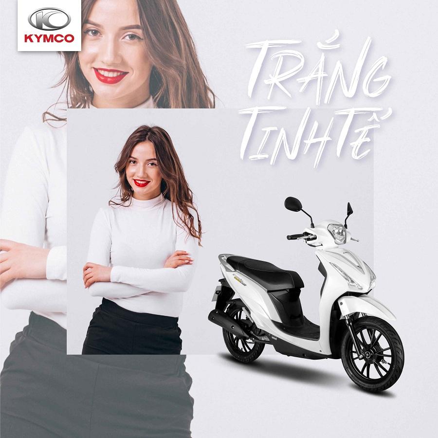 Xe máy 50cc Kymco thu hút sự chú ý của giới trẻ
