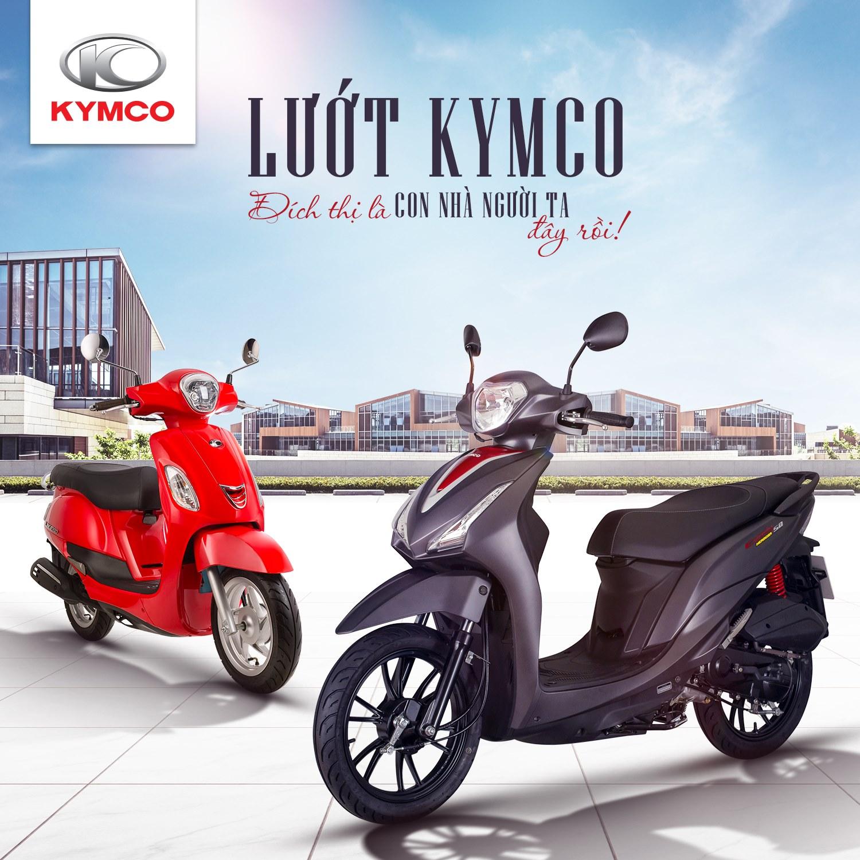 Xe ga cao cấp Kymco chinh phục người lái nhờ những ưu điểm vượt trội