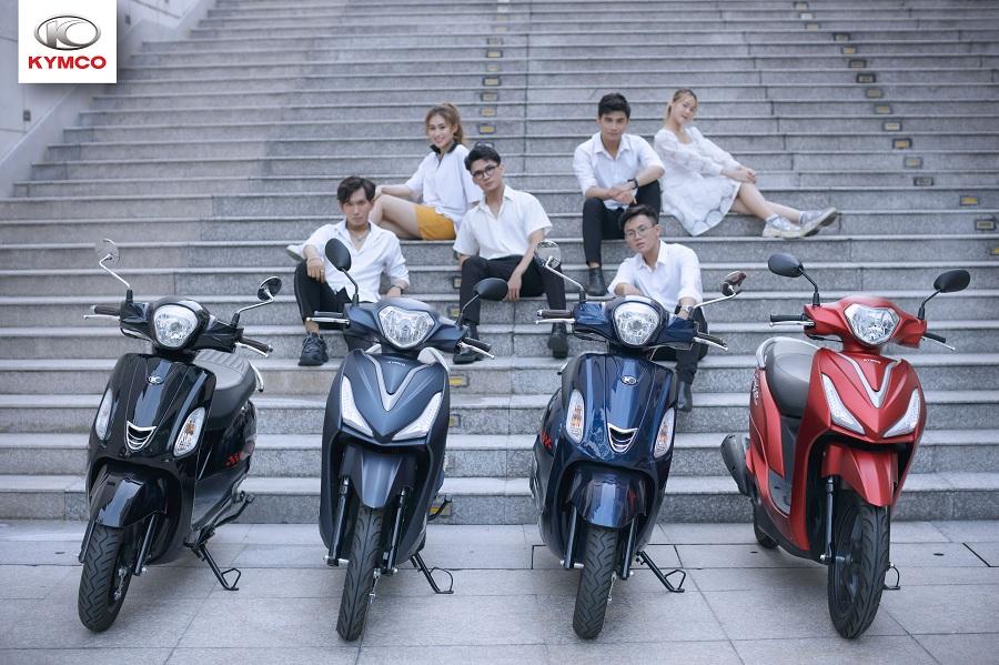Xe máy 50cc Kymco chất lượng hàng đầu
