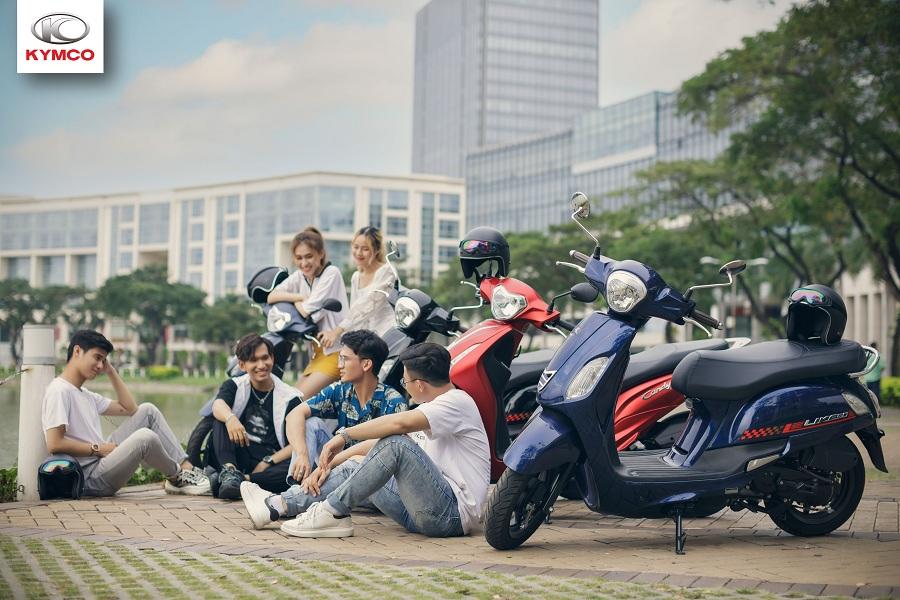Những mẫu xe tay ga cao cấp 50cc Kymco cho học sinh, sinh viên