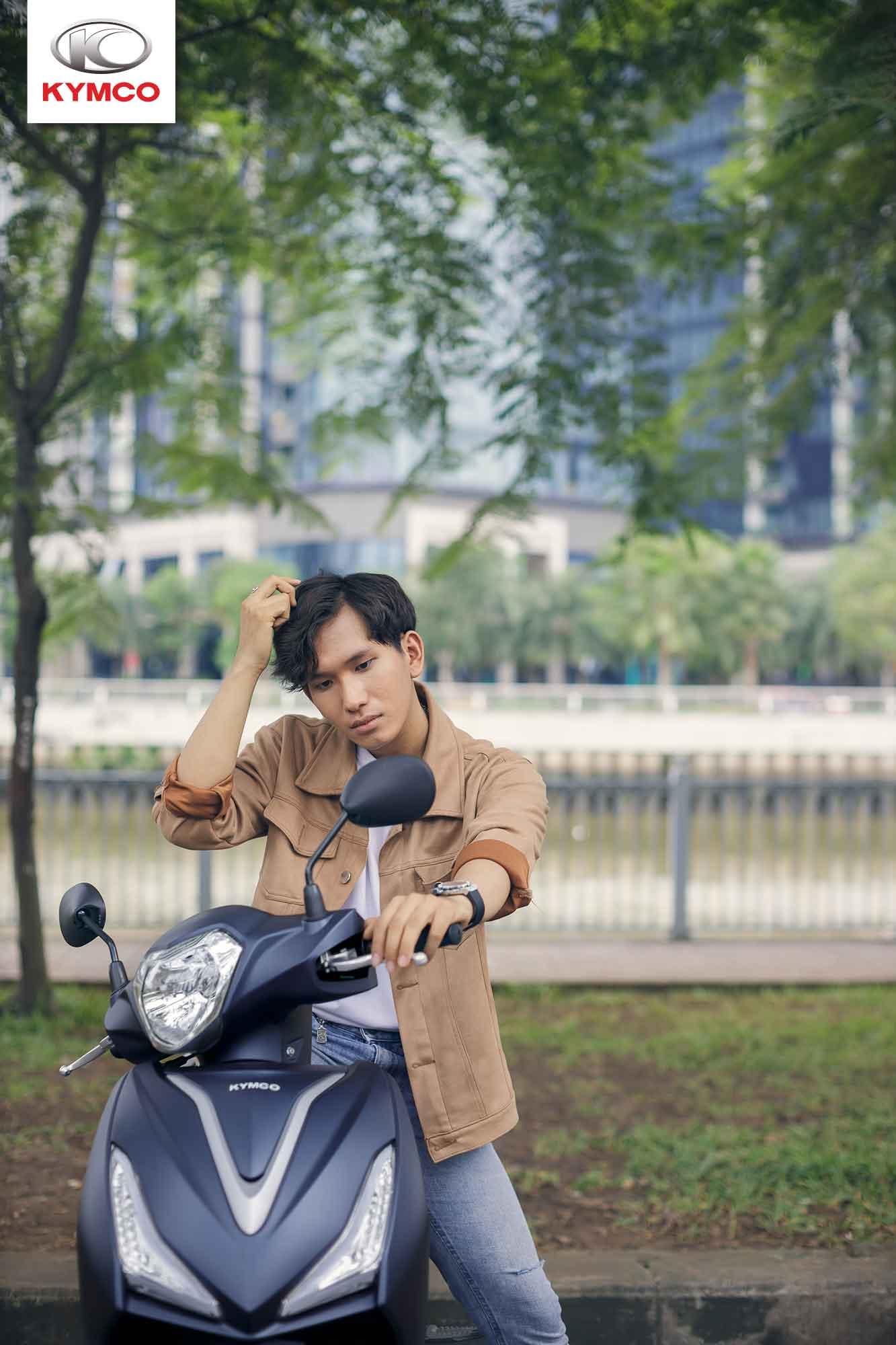 Xe ga Kymco với giá thành phải chăng phù hợp với nhiều người dùng Việt