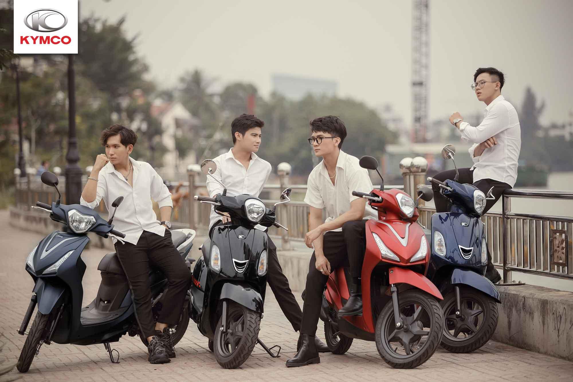 KYMCO luôn tự hào là nhà phân phối xe ga 50cc với chất lượng hàng đầu Việt Nam