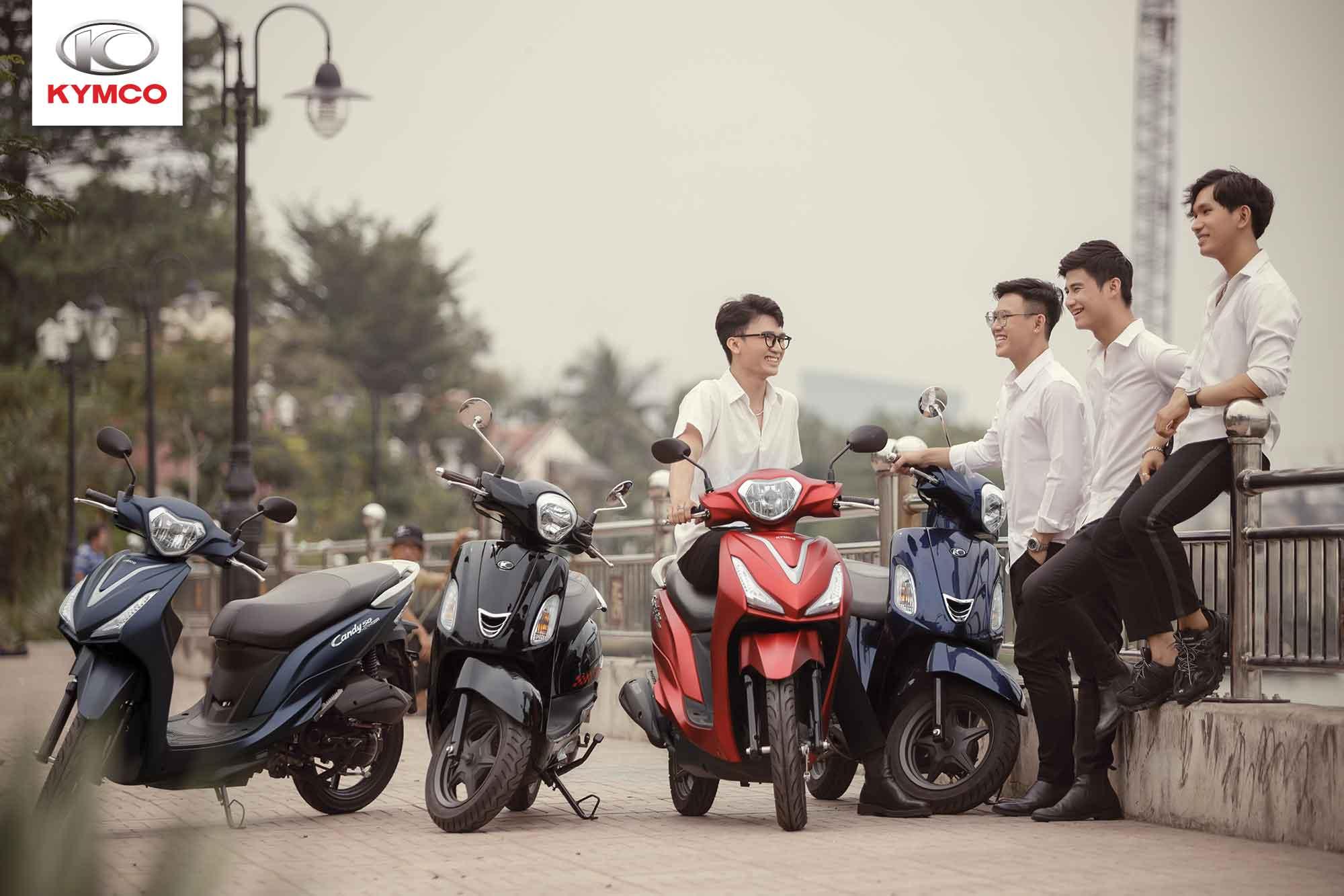 Dòng xe máy 50cc có thiết kế đa dạng trẻ trung