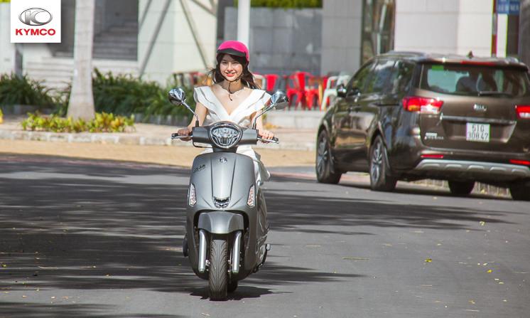 Like 125cc phù hợp với dáng vẻ và tính cách của những cô nàng phong cách mới mẻ, năng động