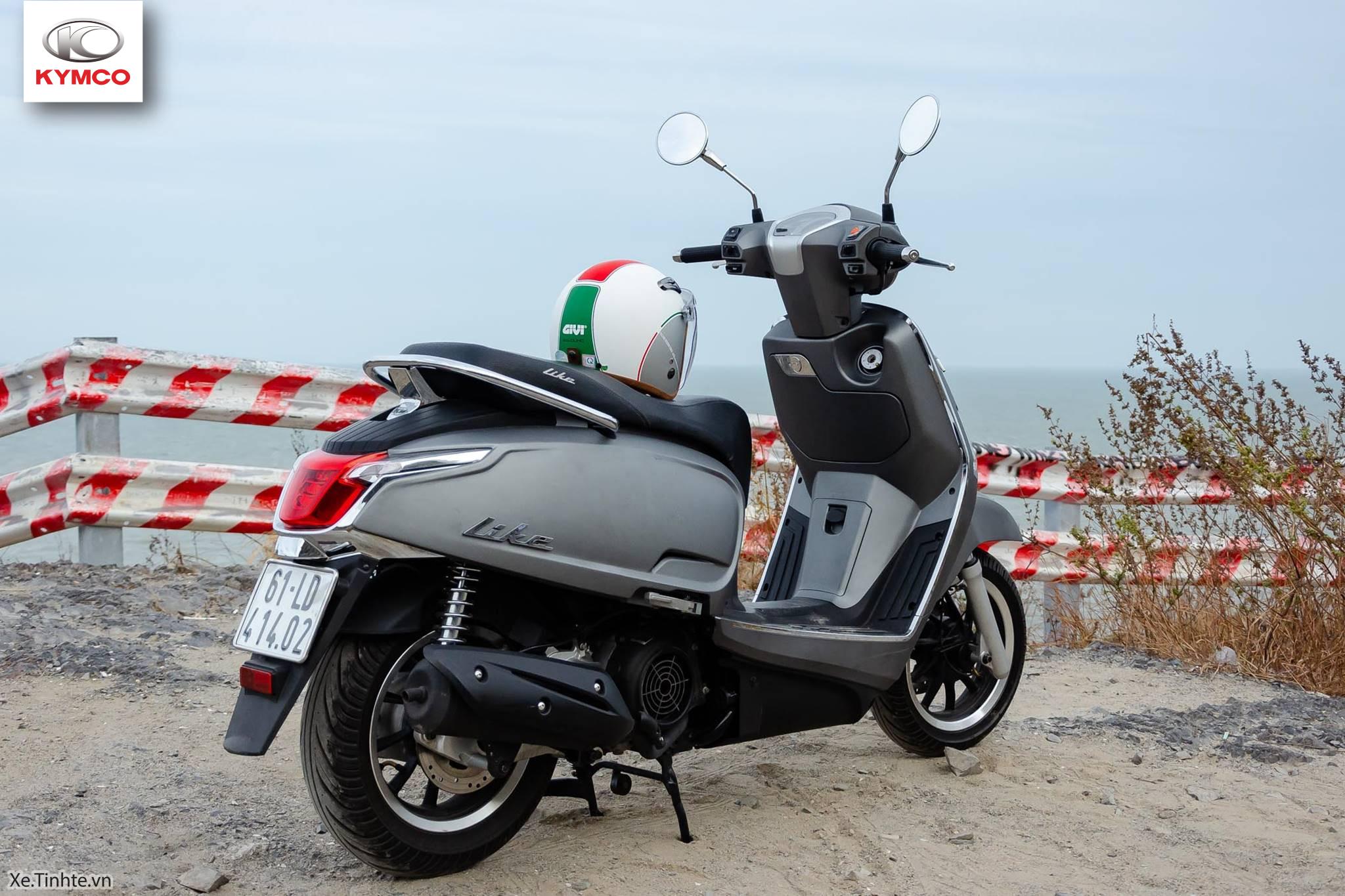Dòng xe tay ga phân khối 125cc Kymco được thiết kế cao cấp