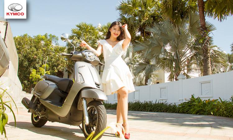 Like 125cc Kymco với nhiều ưu điểm nổi trội, thiết kế bắt mắt, động cơ khỏe bền bỉ