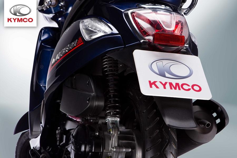 Xe ga 50cc kymco sở hữu thiết kế hiện đại