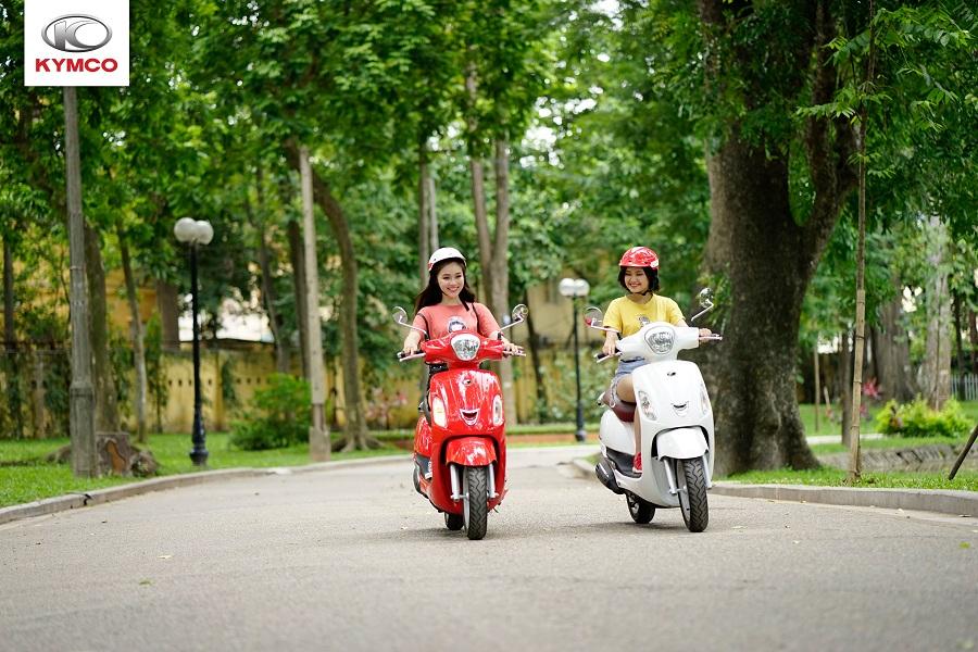 Kymco tự hào là thương hiệu xe máy tay ga 50cc được người tiêu dùng đánh giá cao
