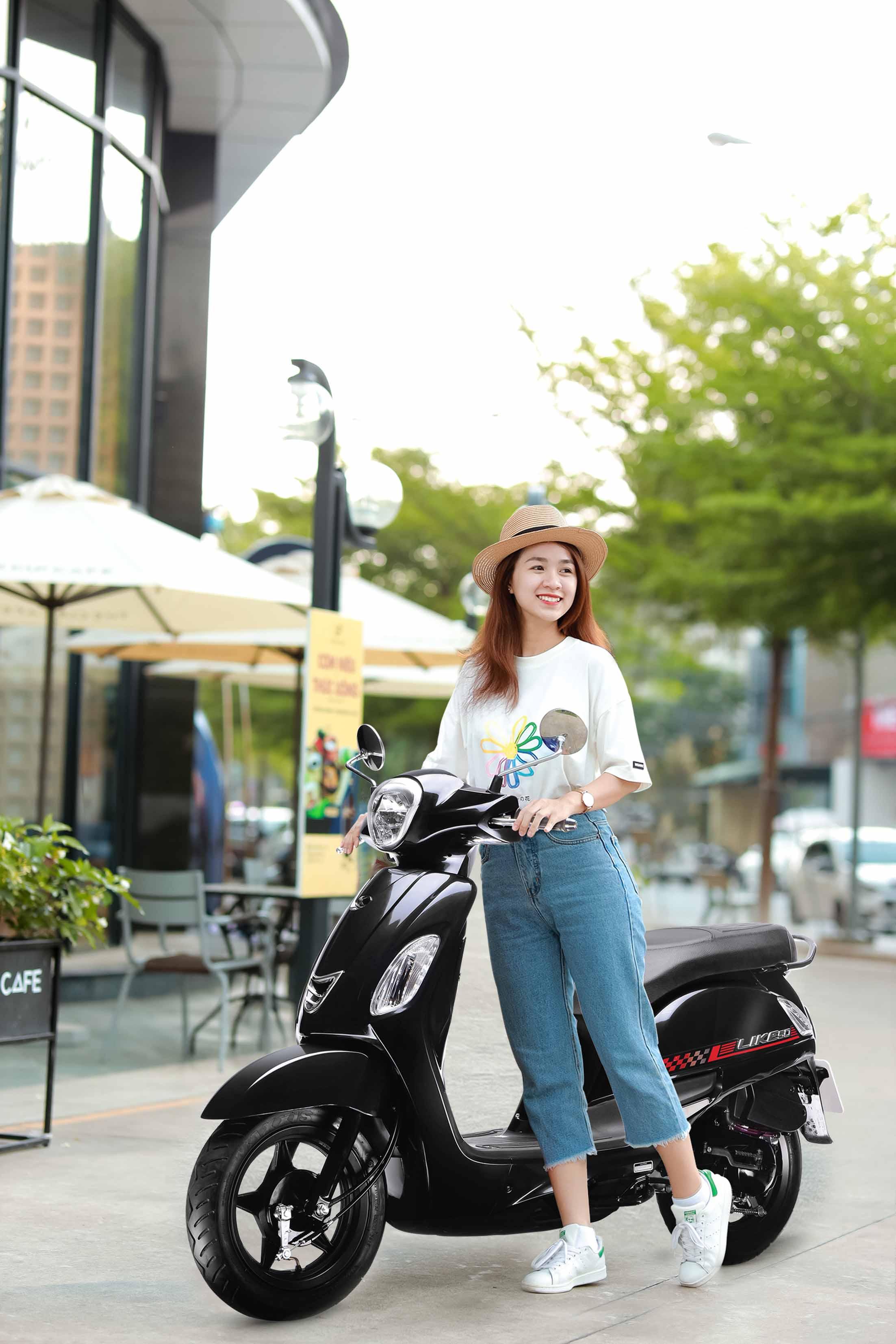 Xe ga Kymco 50cc phong cách cho giới trẻ