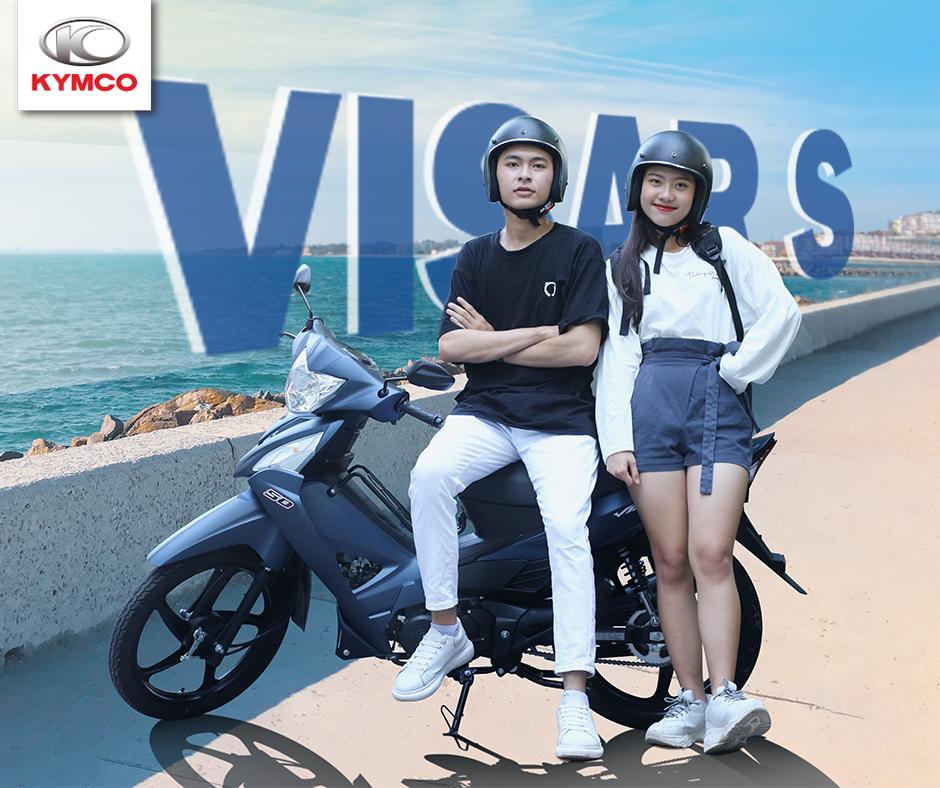 VisarS 50 - mẫu xe lý tưởng cho nam