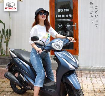 Xe tay ga 50cc dành cho học sinh có chiều cao khiêm tốn