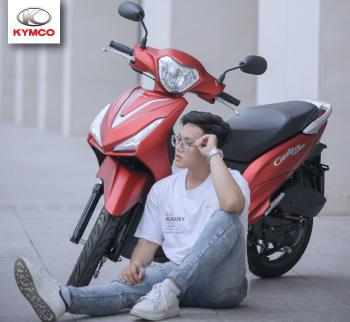 Candy Hermosa 50cc - Xe máy 50cc sành điệu cho giới trẻ