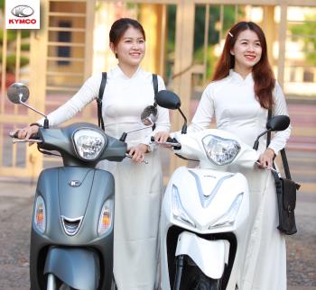 Tiết lộ giá tay ga 50cc chính hãng tại Kymco