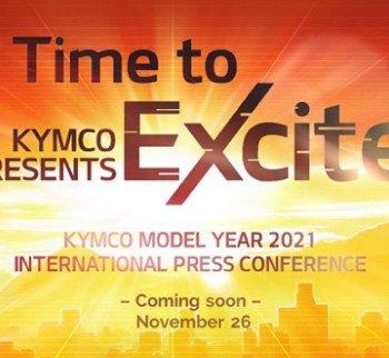 "Kymco tổ chức họp báo quốc tế ""Time to Excite"""
