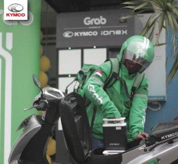 Hợp tác với Kymco, Grab đưa vào sử dụng xe điện Kymco Like EV ở Indonesia