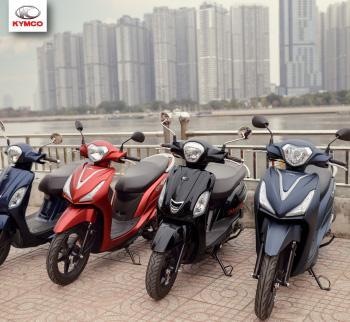 Top những mẫu xe máy đời mới đến từ nhãn hiệu Kymco