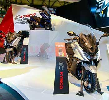 Kymco AK550 – Maxi Scooters sắp trình diện khách hàng Việt