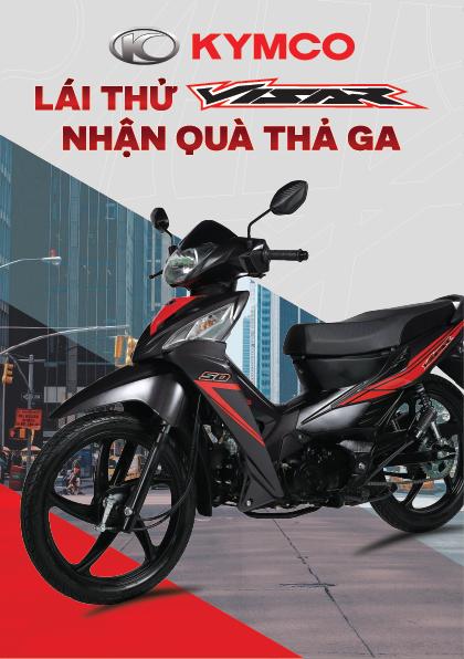 Lai Thu Visar Nhan Qua Tha Ga cung Kymco Viet Nam