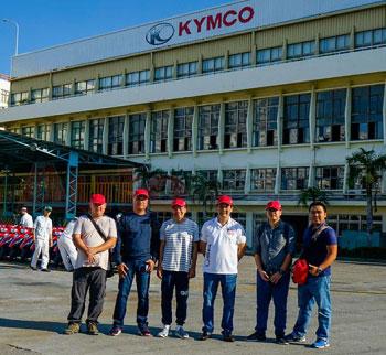 Khám phá Đài Loan cùng Kymco AK550