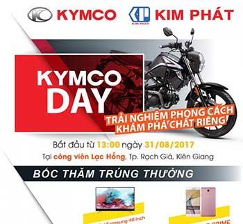 """""""KYMCO DAY"""" - TRẢI NGHIỆM PHONG CÁCH - KHÁM PHÁ CHẤT RIÊNG"""
